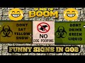 SOME FUNNY SIGNS IN GOB | GUNS OF BOOM