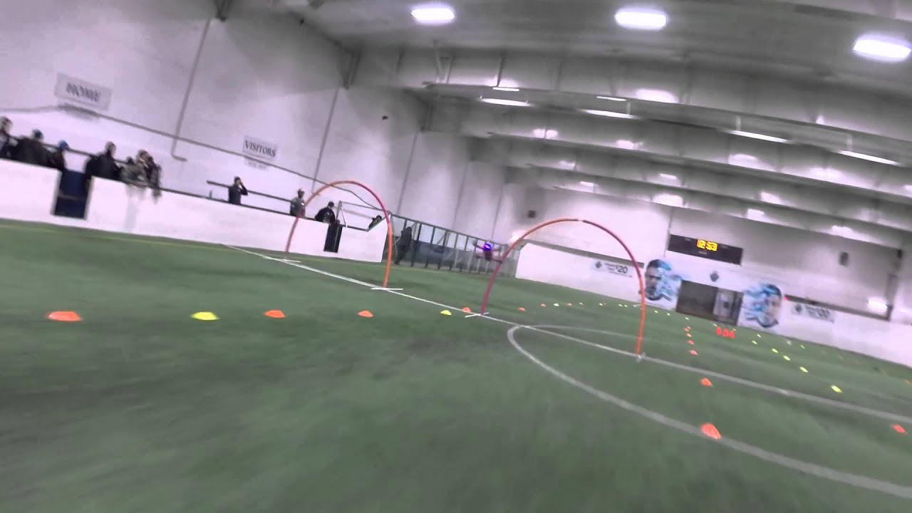 FIRST INDOOR FPV RACE 001 - YouTube
