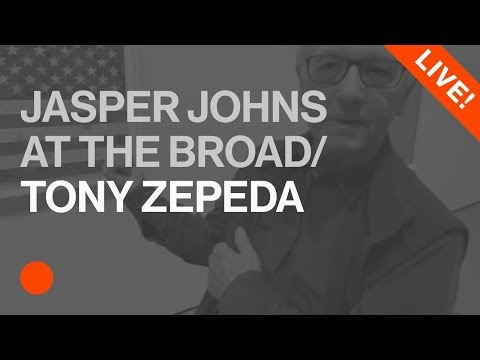 Live with Tony Zepeda from The Broad's Jasper Johns Exhibit