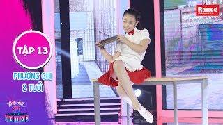 Biệt Tài Tí Hon 2 | Tập 13: Cô bé đa tài gây ấn tượng mạnh với màn nhảy jazz kết hợp xiếc uốn dẻo