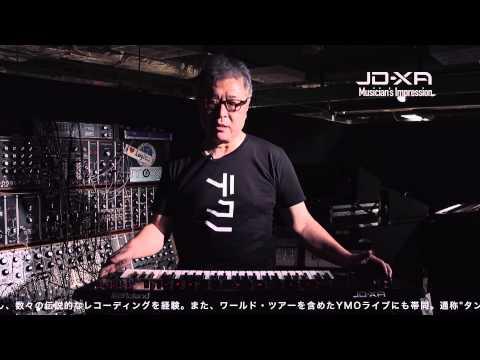 JD-XA Musician's Impression -Hideki Matsutake-