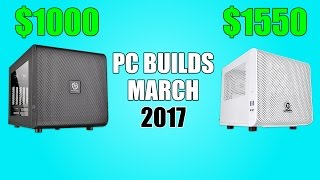 Gaming PC Builds of the Month - March 2017