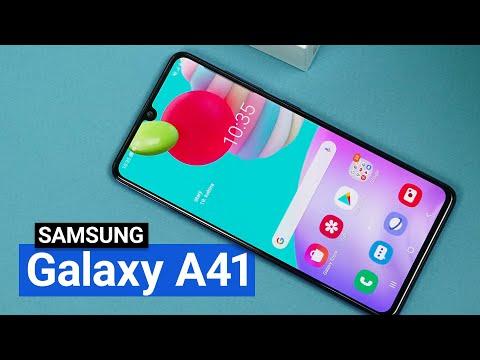 Unboxing a fototest Galaxy A41 - První dojmy z nového Samsungu