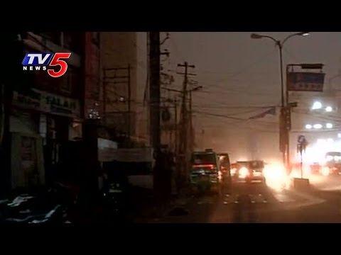 Weather Changes in Lucknow | Darkness after Sudden Dust Storm in Lucknow | TV5 News