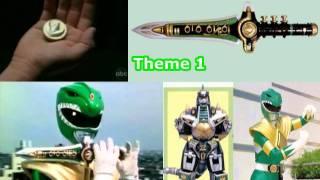 mighty morphin power rangers green ranger s dragon dagger s theme song