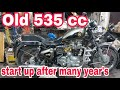 Old 535 cc model | start up | enfield lightning | ncr motorcycles |