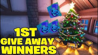 *1ST*Season 7 battle pass + walmart Fortnite spray,GIVE AWAY WINNERS!!!!!!!!!!!!