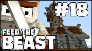 Minecraft Feed The Beast - Episode 18: Evil Plans