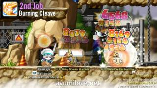 Ayumilove MapleStory Dawn Warrior Soul Master 1st 2nd 3rd 4th Job Skills Preview Revamp 2013