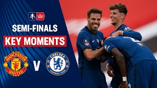 Manchester United vs Chelsea | Key Moments | SemiFinals | Emirates FA Cup 19/20