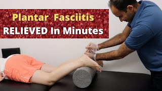 2 Months of Plantar Fasciitis Relieved In Minutes (REAL TREATMENT!!!!)