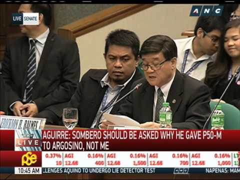 WATCH: Aguirre answers, point-by-point, Trillanes' questions