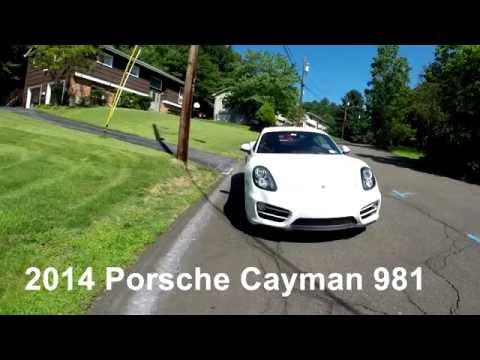 Car Reviews: 2014 Porsche Cayman 981 2.7