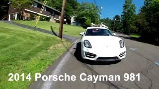 Porsche Cayman 2014 Videos