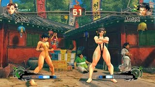 Ultra Street Fighter IV Chun Li vs Makoto PC Mod