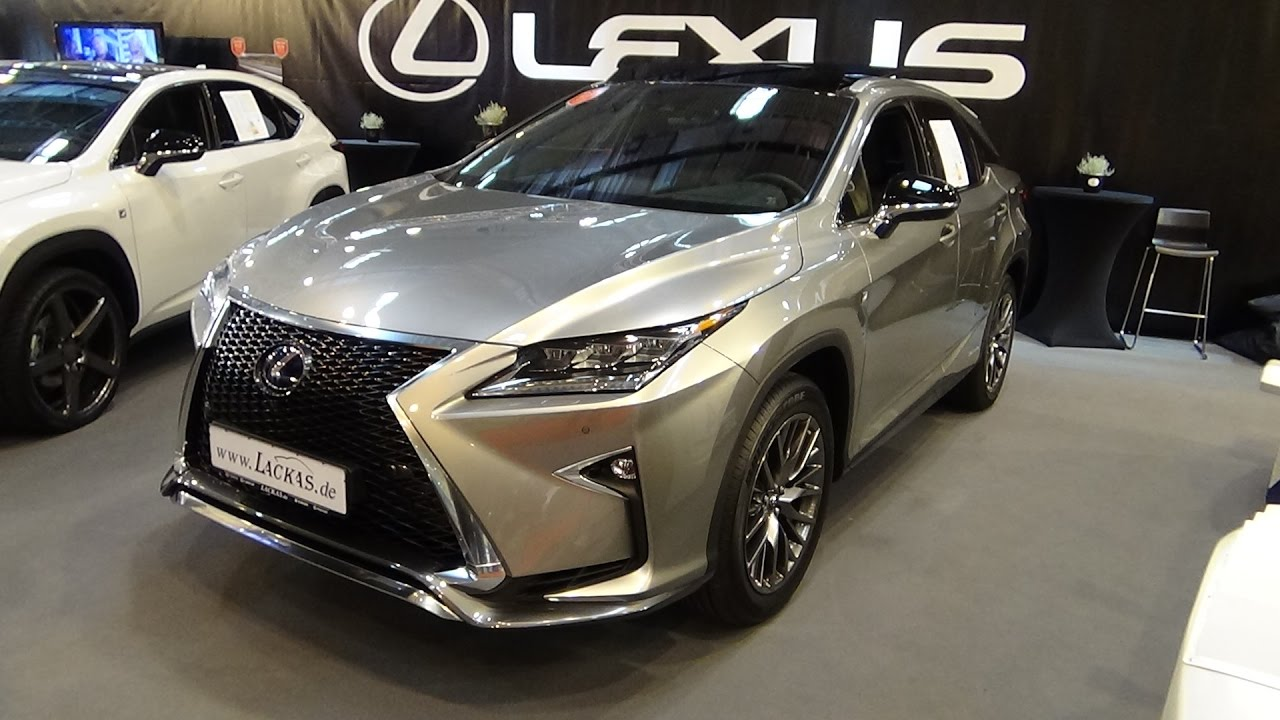2017 Lexus RX 450h F-Sport - Exterior and Interior - Essen ...