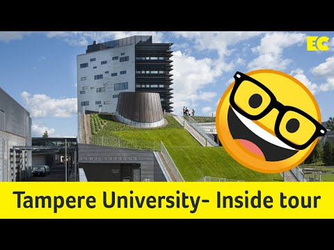 Tour Around The Inside Of The Tampere University| Hervanta| Finland