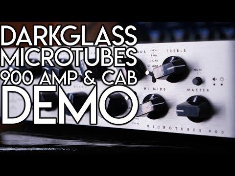 Darkglass Microtubes 900 Amp & Cabinet  | SpectreSoundStudios DEMO