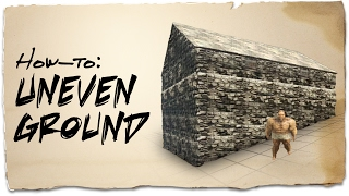 How to build on uneven ground | ARK: Survival Evolved | Building Tips