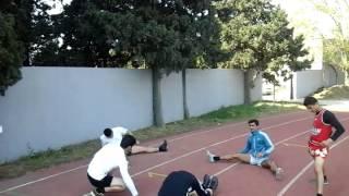 Muay-Thai Raig Team training.Azerbaijan
