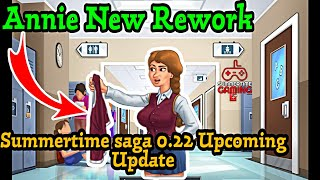 Annie New Rework for Summertime Saga 0.22 Upcoming Update | Summertime saga 0.20.5 update News