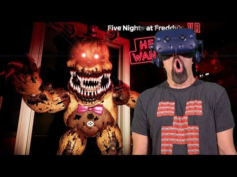 NIGHTMARE FREDBEAR!! | Five Nights At Freddy's VR: Help Wanted [FNAF VR]