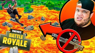 Fortnite: LAGO É LAVA SEM SNIPER * Mini Game* ‹ AMENIC ›