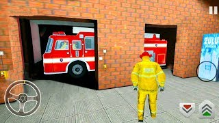 Firefighter Driver: Emergency Rescue Simulator #3 - 911 Fire Truck Brigade - Android Gameplay screenshot 5