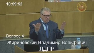 Vladimir Zhirinovsky about genocide of Christians (English subs)