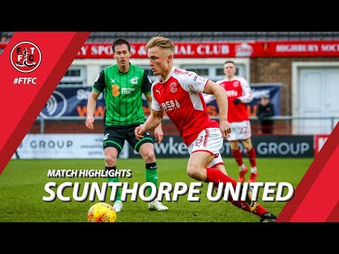 Fleetwood Town 2-3 Scunthorpe United | Highlights