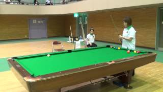 2014年10月25日 / 和歌山県立体育館 / 9ボール4先.