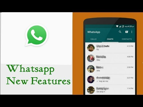 Whatsapp new update colored background feature September 2017