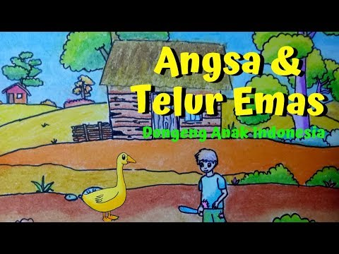 Angsa Dan Telur Emas | Kartun Anak | Dongeng Anak Indonesia