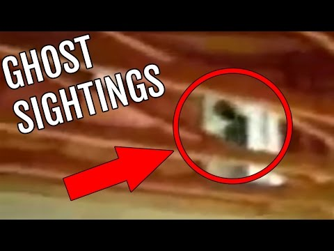 Top 5 Ghost Sightings that were CAUGHT ON VIDEO