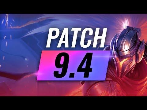 Best Champions TIER LIST - League of Legends Patch 9.4 thumbnail