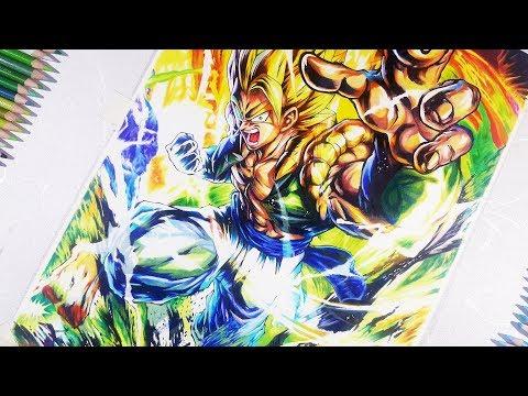 "Drawing Gogeta "" The Supreme Warrior ""  dbs Broly movie | vh art"