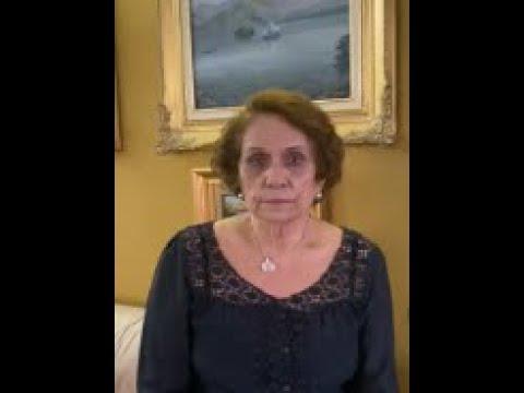 Celebración del Día de la Catálisis en Venezuela. Profa. Mireya Goldwasser