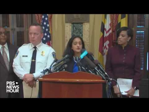 Justice Department releases report on Baltimore police
