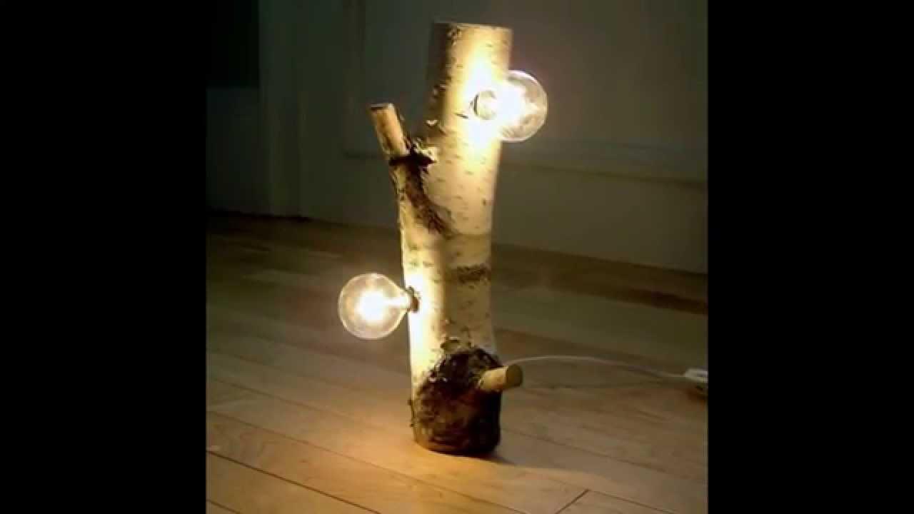 Светильник из дерева своими руками фото