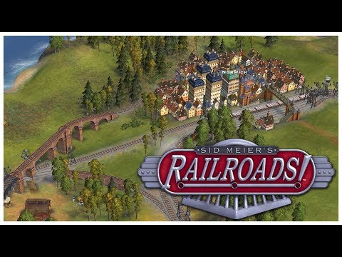 Sid Meier's Railroads! - Robber Baron - Let's Play / Gameplay / Beverage