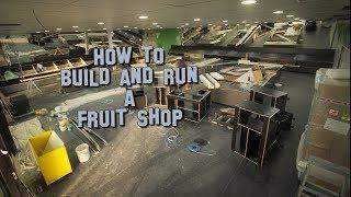 Yuen's Farmers Market Shop Build