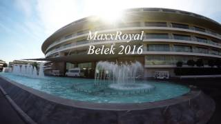 Maxx Royal Belek Hotel Turkey. 2016