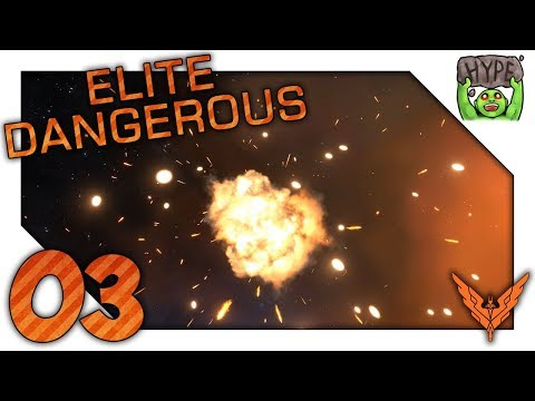 Conflict Zone (On Purpose This Time) - Zero To Hero - Ep 03 - Elite Dangerous Playthrough