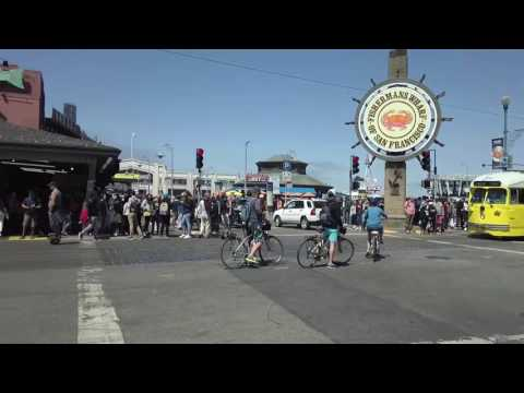 Inside Fisherman's Wharf - San Francisco