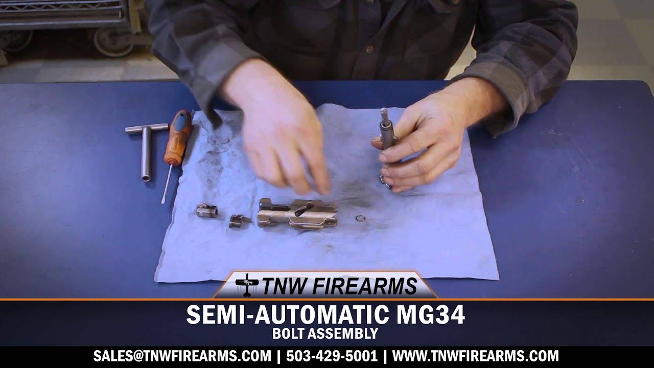 MG34 SEMI-AUTO BOLT ASSEMBLY