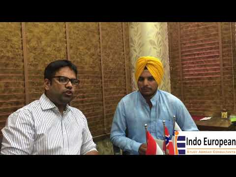 Our Student Sarabjit got Study visa for latvia after 3 Rejections, Interviewed by Deepinder Bawa