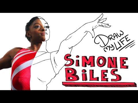 Download Youtube: SIMONE BILES 🤸🏿♀️   Draw My Life