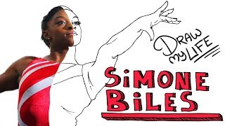 SIMONE BILES 🤸🏿♀️ | Draw My Life
