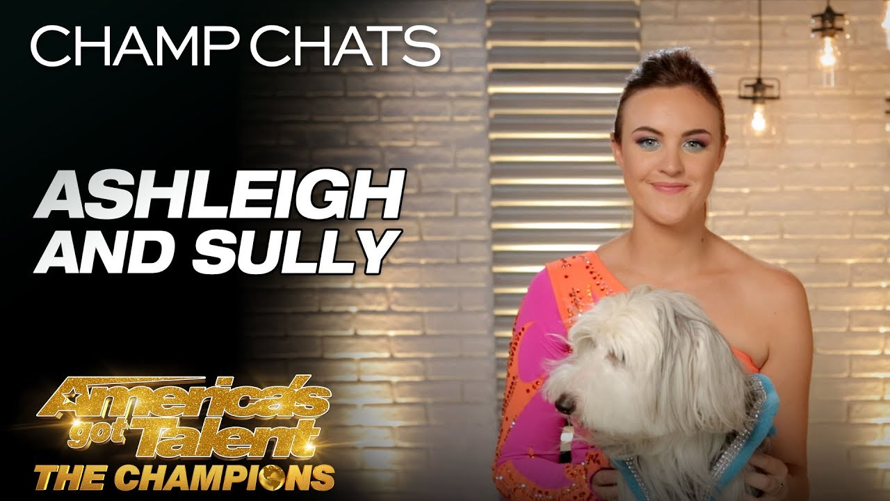 Ashleigh Describes Sully's Biggest Performance Ever - America's Got Talent: The Champions