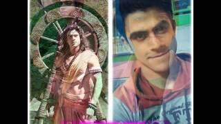 wajah asli para pemain mahabharata